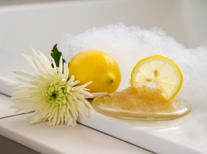 Lemon Foot Scrub